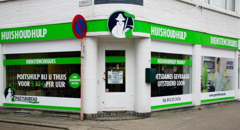 Het Poetsbureau in Herentals
