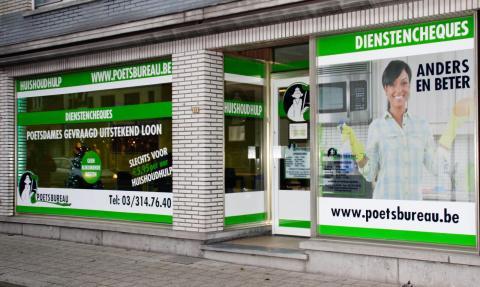 Het Poetsbureau in Hoogstraten