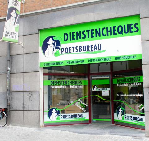 Het Poetsbureau in Leuven