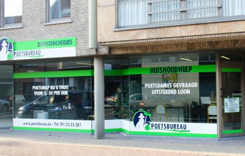 Het Poetsbureau in Merelbeke