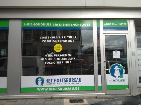Het Poetsbureau in Gent