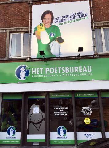 Het Poetsbureau in Kortrijk