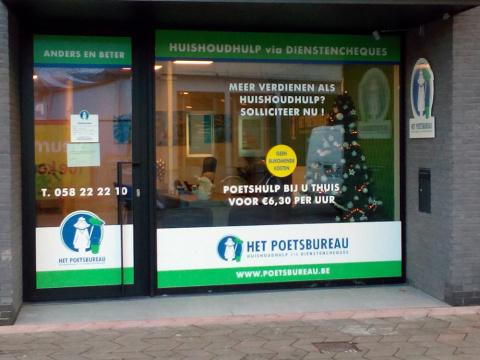Het Poetsbureau in Veurne