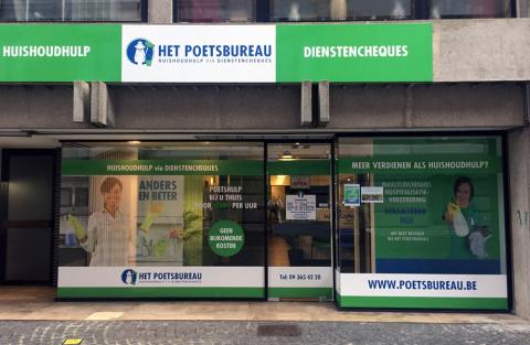 Het Poetsbureau in Wetteren
