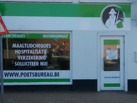 Het Poetsbureau in Meerhout