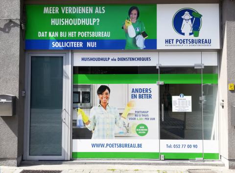 Het kantoor in Dendermonde