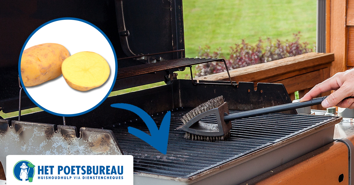 barbecue rooster schoonmaken